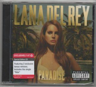 Lana Del Rey Paradise CD Special Edition Target Exclusive