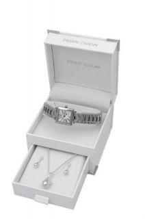 Pierre Cardin Ladies Watch Jewelry Women Set 16202
