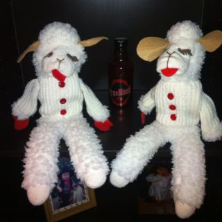 Vintage Lamb Chop 17 16 Hand Puppets by Shari Lewis