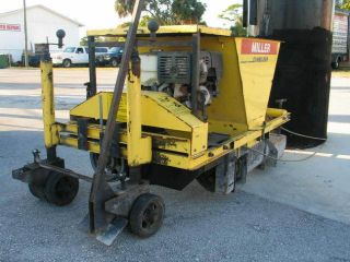 miller curb machine for sale