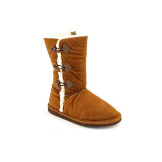 Lamour A740 Toddler Girls Size 2 Brown Textile Winter Boots