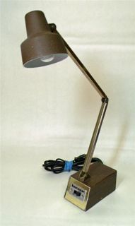 Tensor desk lamp vintage mid century modern table light mod metal free