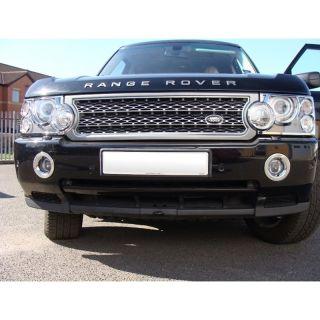Land Rover Range Rover Chromed Fog Lamp Light Rim Surrounds Covers