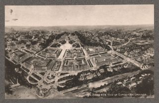 Missouri St. Louis World Fair Birds eye, 1904 Gravure