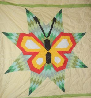 Native American LAKOTA Sioux Heavy Star Quilt