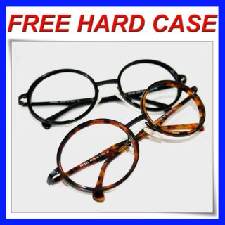 Large Round Eyeglasses High Quality Italy Frame Big Reading Glasses