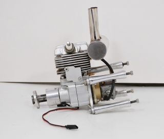 Model RC Airplane Large Scale Engine w Walbro Carburetor