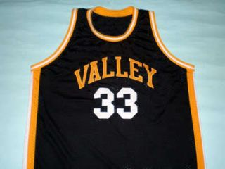 Larry Bird Valley High School Jersey New Black Any Size