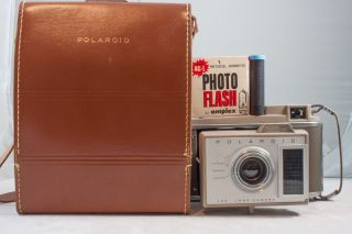 Polaroid Vintage J33 Land Camera Folding Bellows Film Camera