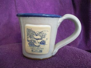 Land OLakes Feed Mug Coffee Cup Pottery Cup Neat Look