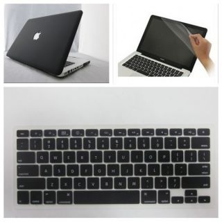 Hard Case Cover for MacBook Pro 13 13 3inch Black Laptop Shell