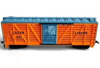 HO Scale Laramie North Platte Western LNP w Cattle Rolling Stock Car