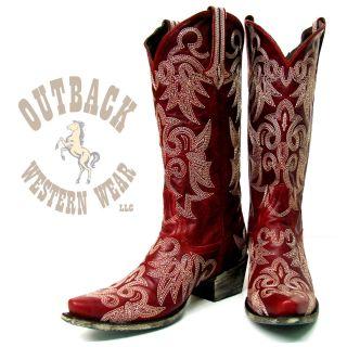 Lane Boots Wild Ginger Womens Cowboy Boot LB0031D
