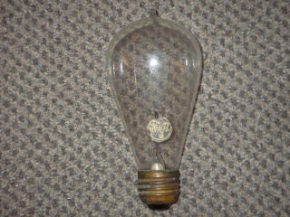 Old Original Antique Zokul Tipped Light Bulb