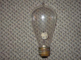 Old Original Antique Zokul Tipped Light Bulb