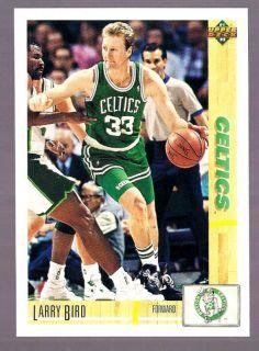 Larry Bird Boston Celtics HOF 1991 Upper Deck 344