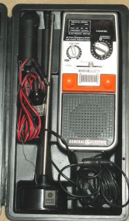 Way Citizen Band Radio General Electric Full Power 40 Channel Help