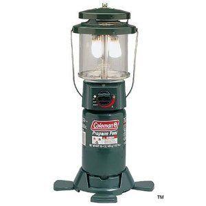 Lantern Camping Coleman Two Mantle Propane Porcelain Venilator Outdoor