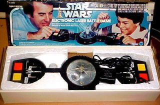 It Works C 1977 Vintage Star Wars Electronic Laser Game w Box