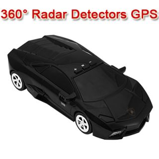 Car Speed Radar 360° Protection Detector Laser Detection Voice Safety