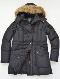 329 Polo Ralph Lauren Womens Hooded Puffer Down Parka Jacket Coat