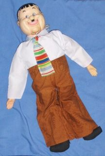 Vintage Larry Harmon Pictures 24 Oliver Hardy Ventriloquist Dummy Doll