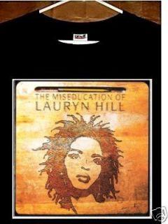 Lauryn Hill T Shirt Miseducation of Lauryn Hill