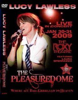 Xena DVD Lucy Lawless Pleasuredome Live in Concert 2009