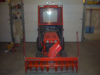 Hydriv Riding Lawn Tractor Mower Deck Snow Blower Cab Chains
