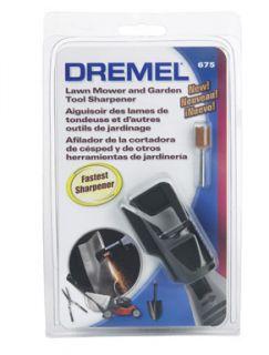 Lawn Mower Blade Sharpener by Dremel 675
