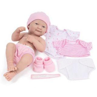 Berenguer La Newborn Deluxe Layette Set Gift Vinyl Baby Girl JC Toys