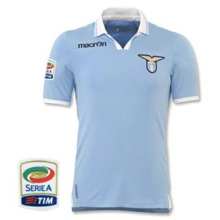Lazio Home Soccer Jersey 12 13 Football Shirt Sz s M XL Calcio Patch