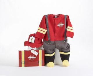 Piece Layette Set in Themed Gift Box Baby Firefighter