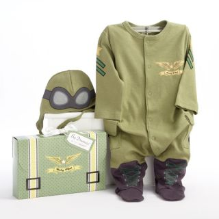 Pilot Baby Costume 2 PC Layette Set in Gift Box Cute