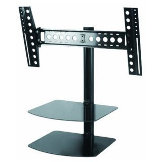 Tilt Swivel TV Wall Mount for 32 55 inch LED LCD Plasma HDTV w 2 AV
