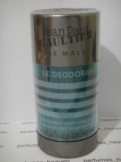 Le Male Jean Paul Gaultier 2 6 oz Men Deodorant Deo Stick SEALED
