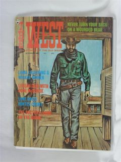 Stories of The Old West November 1967 LeBeau Died Dode McKenzie