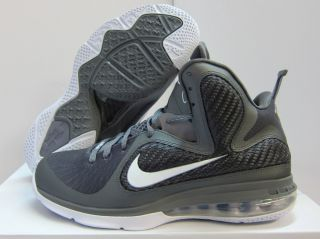 New Mens Nike Lebron 9 Basketball 469764 007 Cool Grey White Metallic