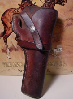 Old Heavy Leather Holster George Lawrence Portland or You Can Make An