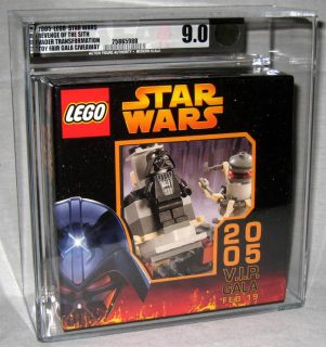 2005 Lego Star Wars Toy Fair VIP Gala Set 1 of Only 55 Made Graded AFA