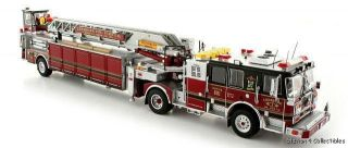 TWH Seagrave Tractor Drawn Aerial Ladder Leesburg Fire Dept Truck 601
