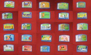 Leapster Leapster 2 L Max Games Cartridge Lot Disney Princess Dora