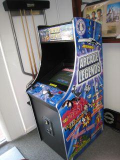 Arcade Legends Video Game 80 Games in 1 Floor Model Free Local