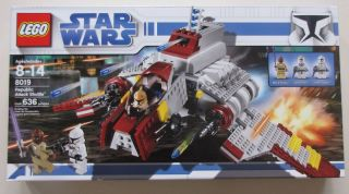 Lego Star Wars Set 8019 Republic Attack Shuttle SEALED 673419111829