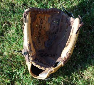 New Wilson Leather Softball Baseball Glove Ball Fastpitch A440 11 5