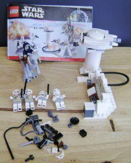 Lego Star Wars 7749 Classic Echo Base 4 Mini Figs Horse Instructions