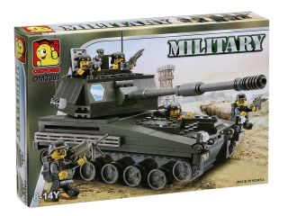 Oxford OM3301 Military Tank Building Block Toy Lego Style