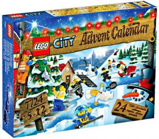 Lego City Set 7724 2008 Advent Calendar