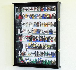 Large Lego Men Action Figures Disney Minatures Dolls Toy Display Case