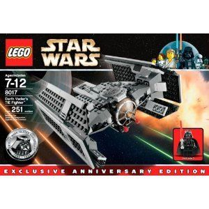 Lego Star Wars Darth Vaders Tie Fighter 10th Anniversary Building Set